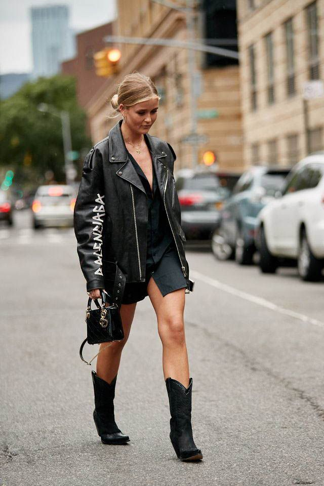 Cowboy-boots-. 140 First-Date Outfit Ideas That Make You Special