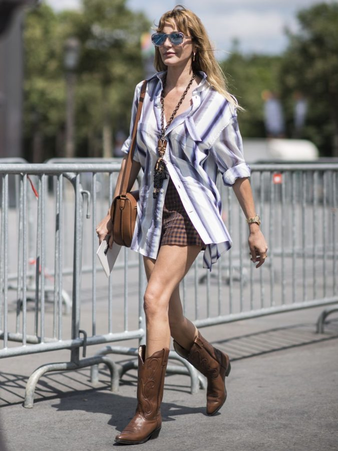 Cowboy-boots..-675x900 140 First-Date Outfit Ideas That Make You Special