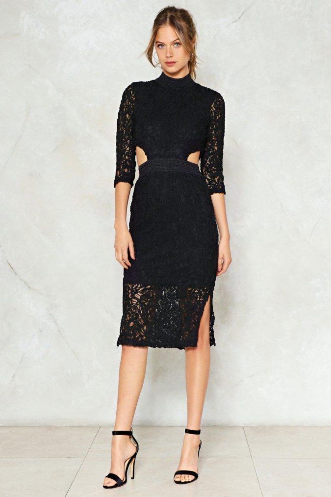Cut-out-midi-dress.-1-675x1013 120 Splendid Women's Outfits for Evening Weddings