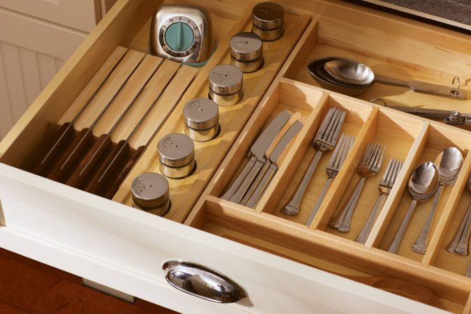 Divide-kitchen-tools-1-675x450 100+ Smartest Storage Ideas for Small Kitchens in 2021