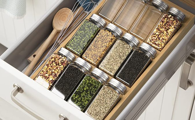 Divide-kitchen-tools.-1-675x418 100+ Smartest Storage Ideas for Small Kitchens in 2021