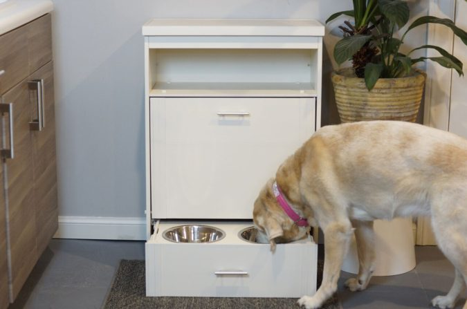 Dog-Pantry-dog-eating-675x447 A Dog-Friendly Home Will Make You and Your Dog Happy