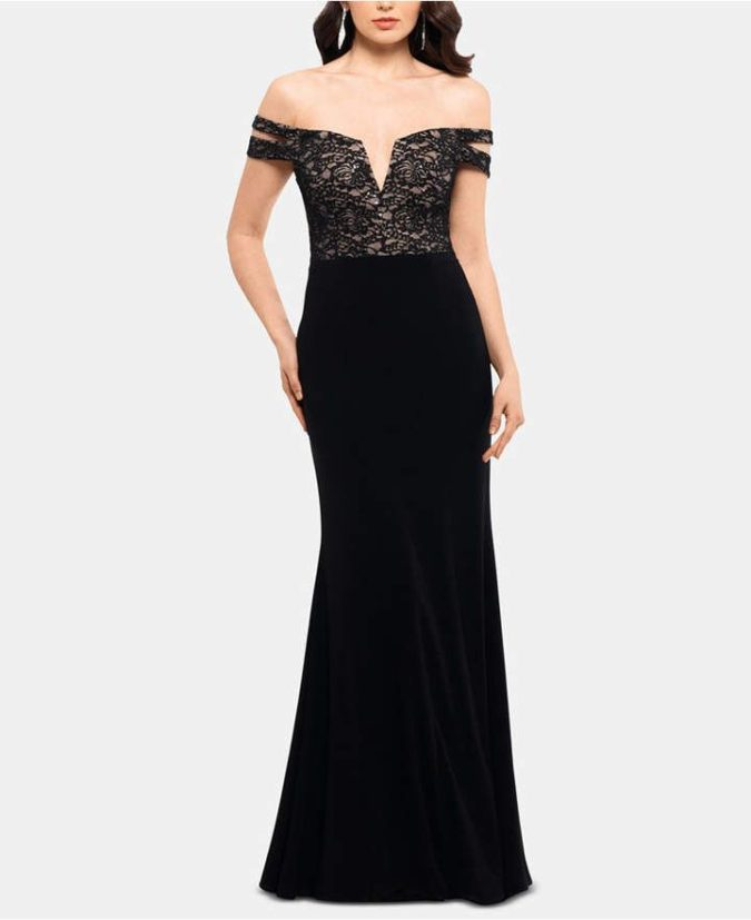 Double-strap-gown-675x827 120 Splendid Women's Outfits for Evening Weddings