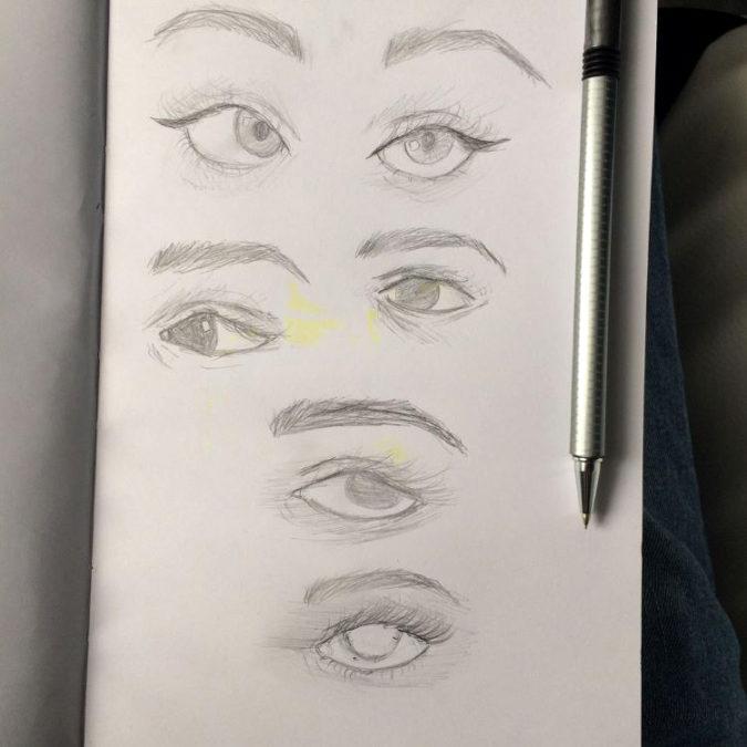 Draw-Stunning-Eyes.-675x675 7 Tips to Draw Stunning Eyes