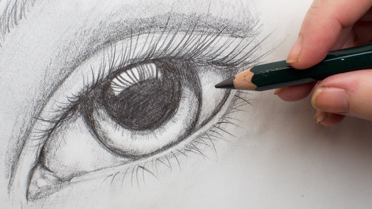 Drawing-the-eye-3 7 Tips to Draw Stunning Eyes