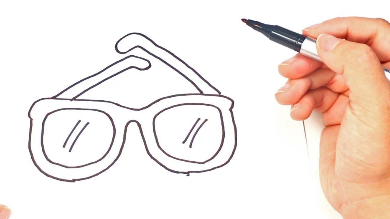 Eye-glasses-1 Top 10 Easiest Things to Draw