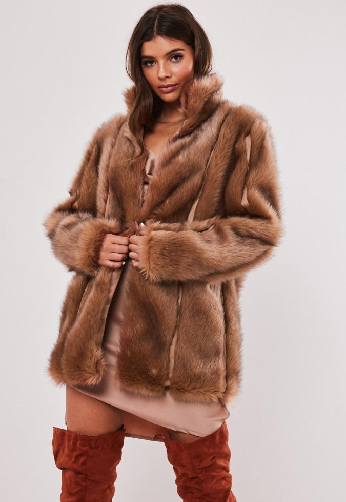 Faux-Fur-Coat.-675x978 140+ Lovely Women's Outfit Ideas for Winter 2020 / 2021