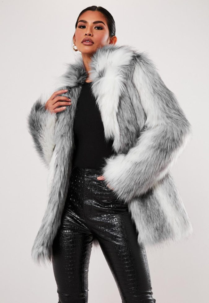 Faux-Fur-Coat..-675x978 140+ Lovely Women's Outfit Ideas for Winter 2020 / 2021