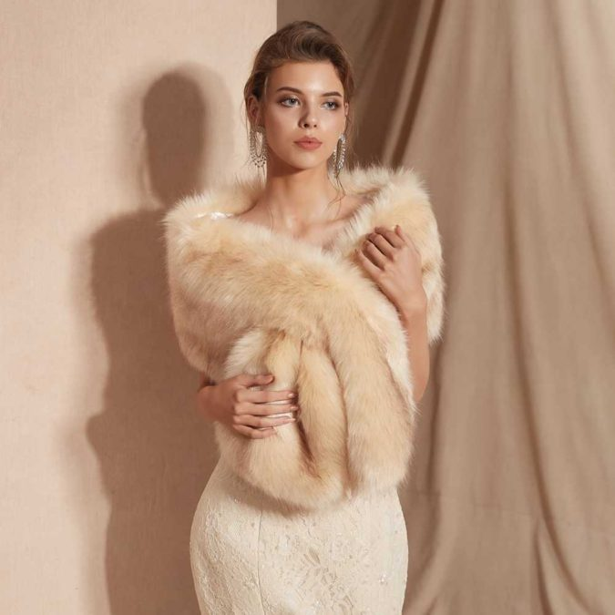 Faux-Fur-Stoles.-675x675 140+ Lovely Women's Outfit Ideas for Winter 2020 / 2021