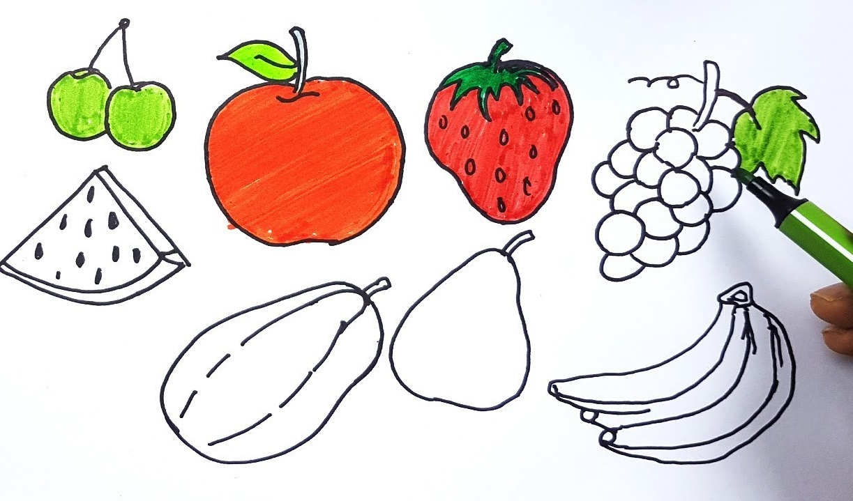 Fruits Top 10 Coolest Unique Drawing Ideas for Teens