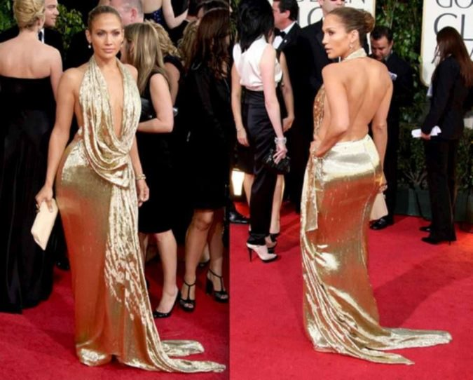 Golden-backless-dress-675x542 120+ Breathtaking Birthday Party Outfits for Ladies