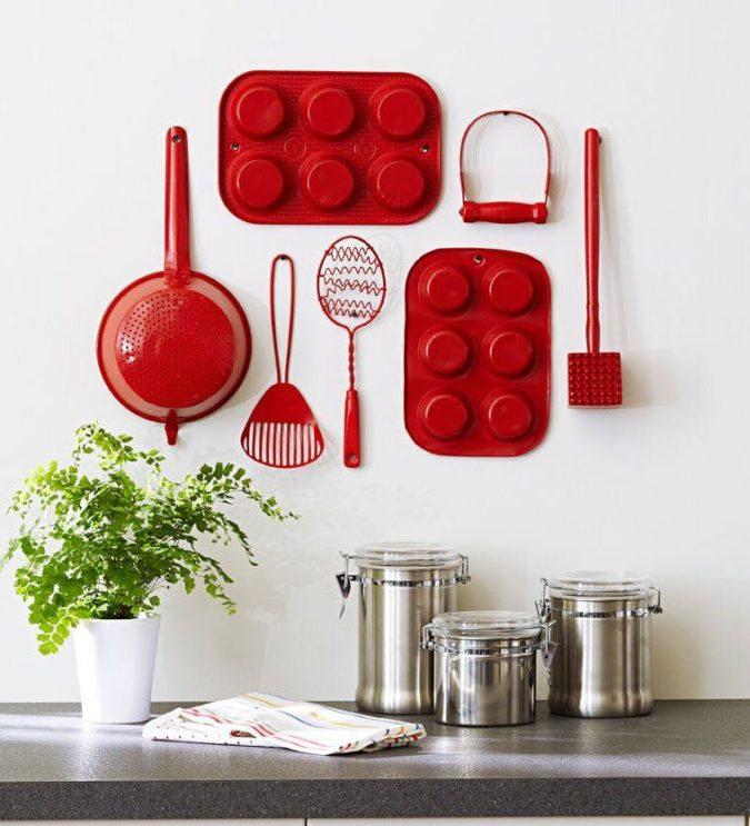 Grouping-by-color-675x743 100+ Smartest Storage Ideas for Small Kitchens in 2021