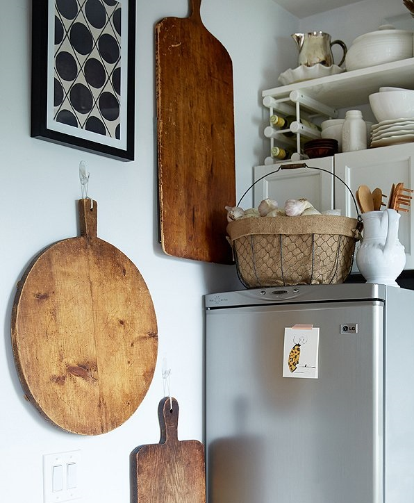 Hanging-cutting-boards-1 100+ Smartest Storage Ideas for Small Kitchens in 2021