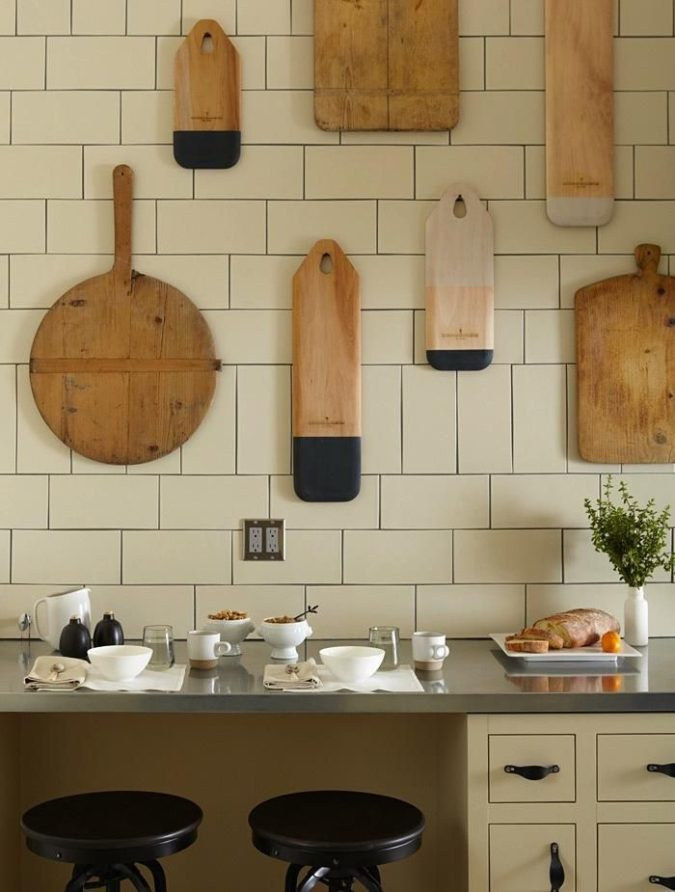 Hanging-cutting-boards-675x892 100+ Smartest Storage Ideas for Small Kitchens in 2021