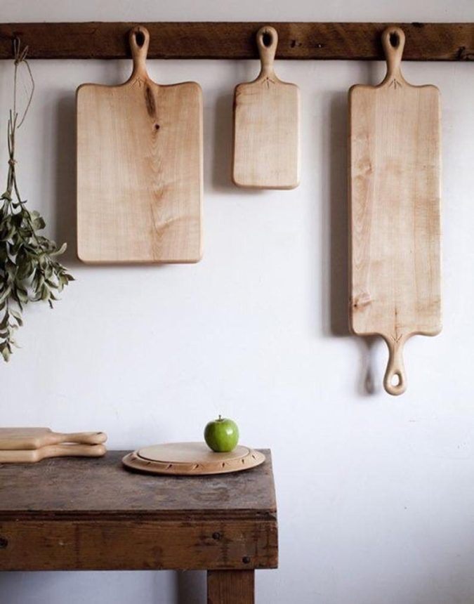 Hanging-cutting-boards.-675x860 100+ Smartest Storage Ideas for Small Kitchens in 2021
