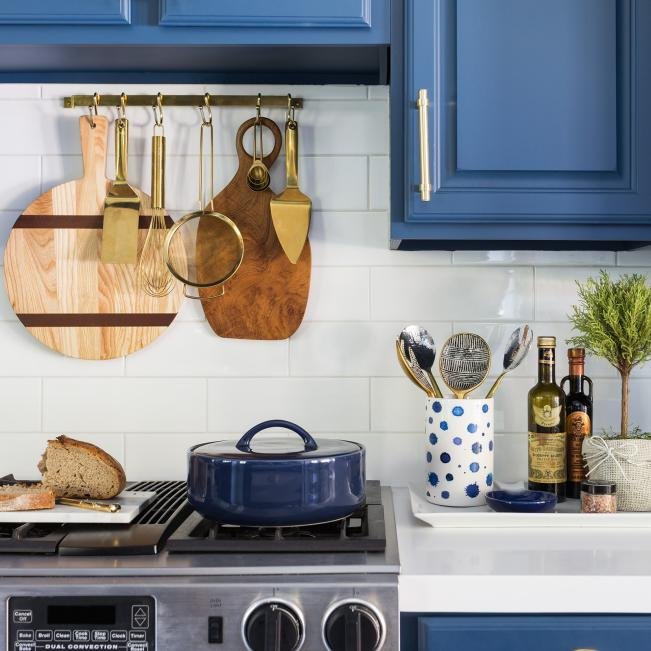 Hanging-cutting-boards 100+ Smartest Storage Ideas for Small Kitchens in 2021
