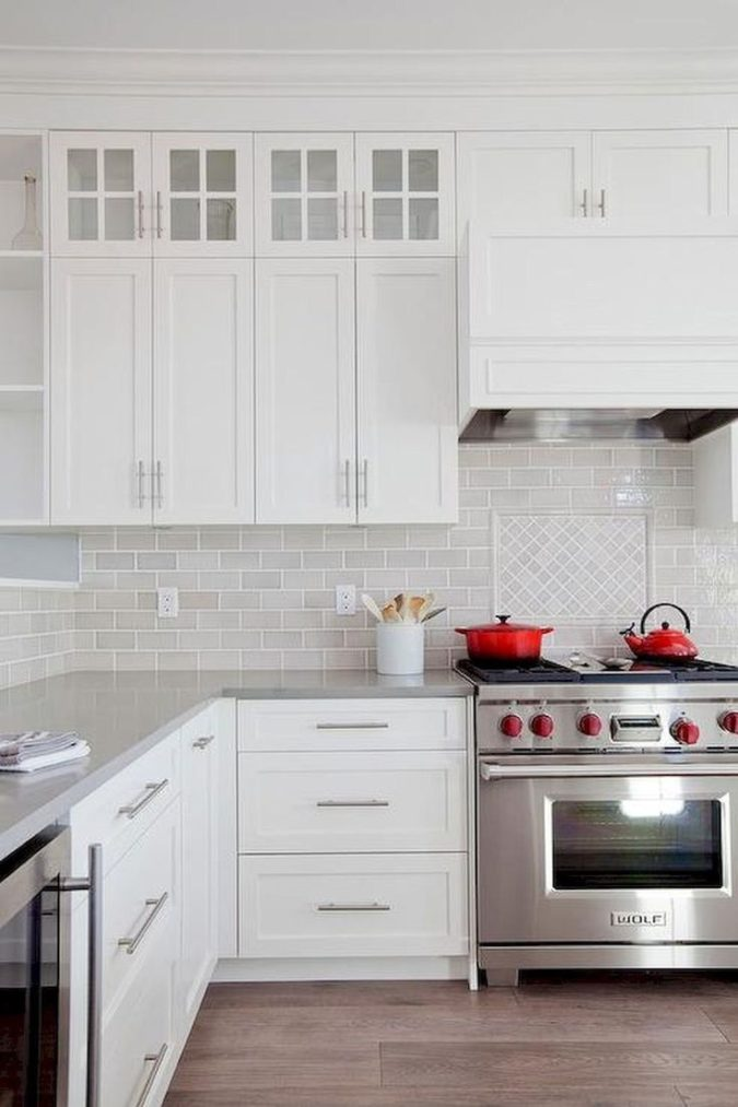 Higher-cabinets.-3-675x1013 100+ Smartest Storage Ideas for Small Kitchens in 2021