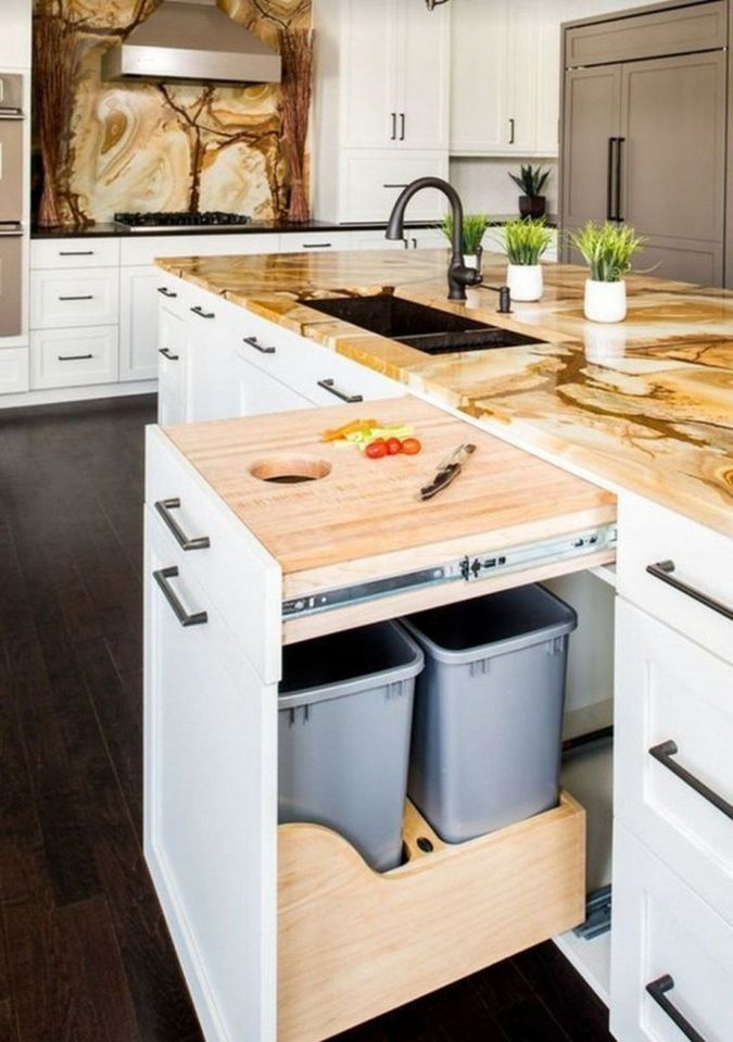 Installation-of-side-out-prep-station-3-675x959 100+ Smartest Storage Ideas for Small Kitchens in 2021