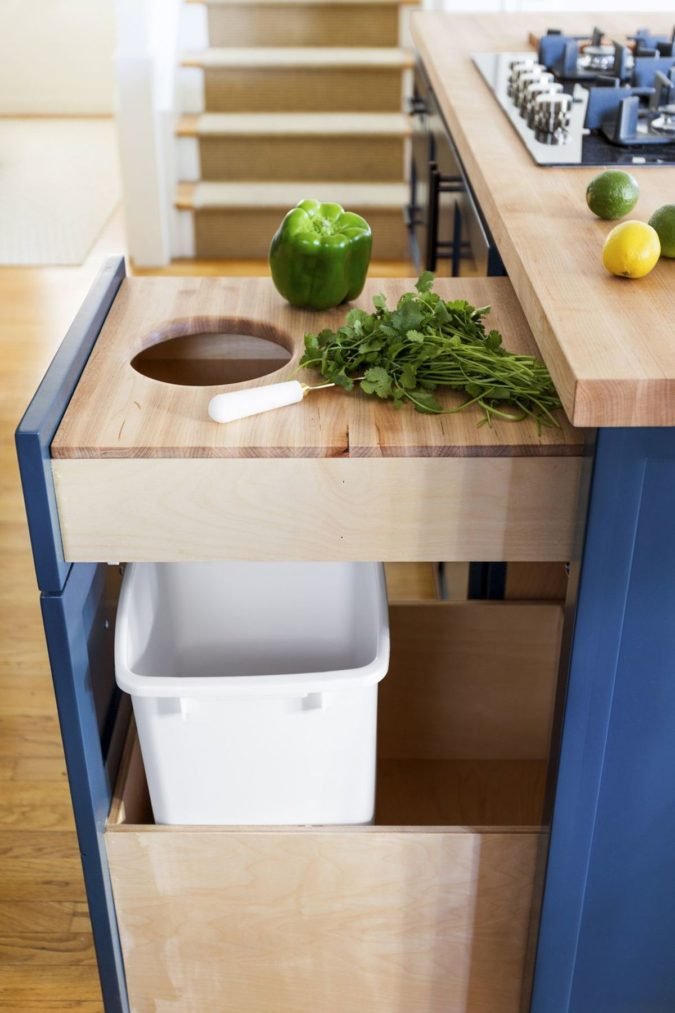 Installation-of-side-out-prep-station.-675x1013 100+ Smartest Storage Ideas for Small Kitchens in 2021