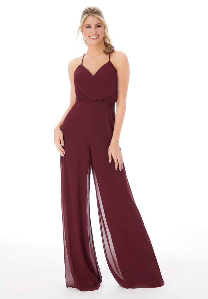 Jump-suit-675x968 120 Splendid Women's Outfits for Evening Weddings