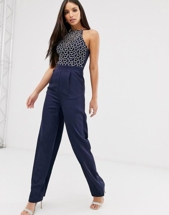 Jump-suit..-1-675x861 120 Splendid Women's Outfits for Evening Weddings