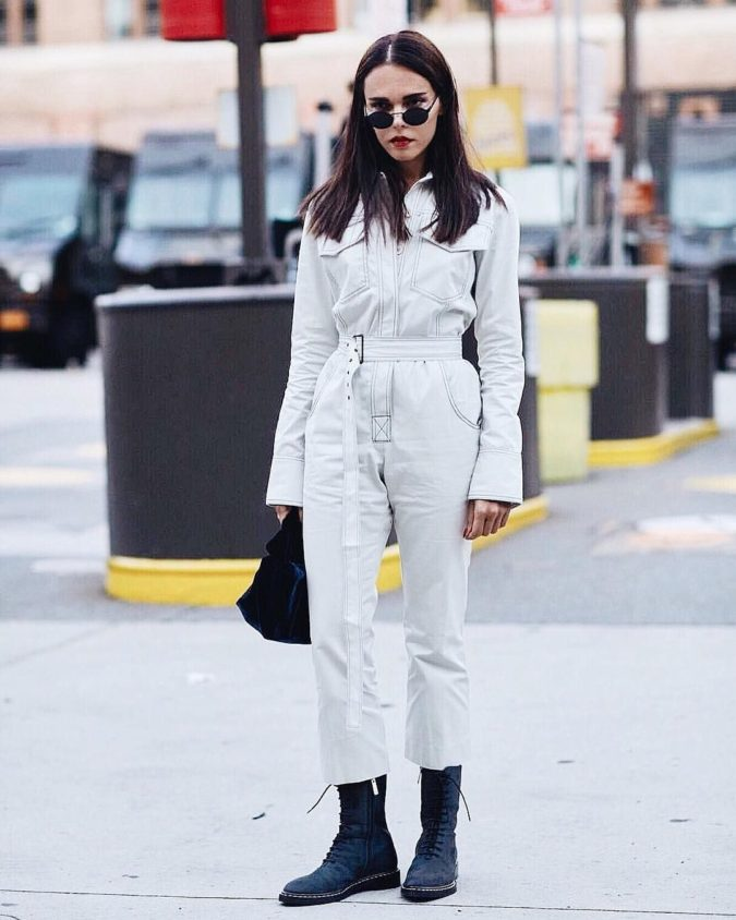 Jumpsuit-1-675x844 140+ Lovely Women's Outfit Ideas for Winter 2020 / 2021