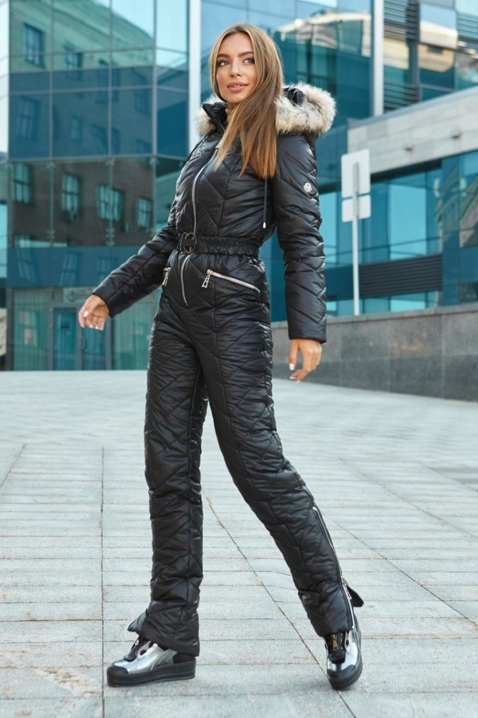 Jumpsuit-2-675x1013 140+ Lovely Women's Outfit Ideas for Winter 2020 / 2021