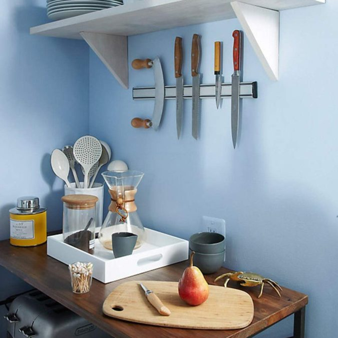 Knife-bar-.-675x675 100+ Smartest Storage Ideas for Small Kitchens in 2021