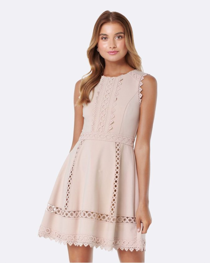Lace-trim-dress..-675x844 120+ Breathtaking Birthday Party Outfits for Ladies