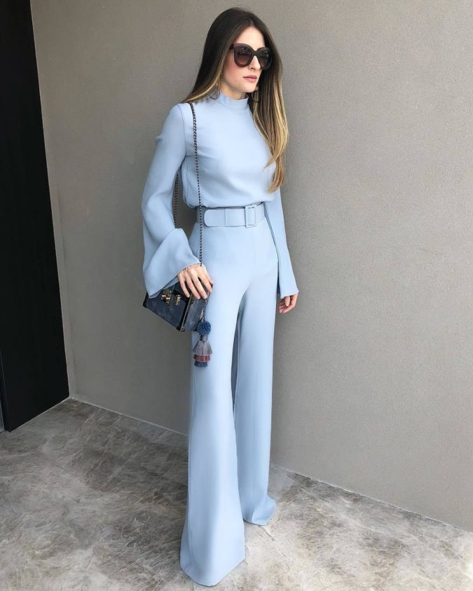 Long-sleeve-jumpsuit.-1-675x843 120+ Breathtaking Birthday Party Outfits for Ladies