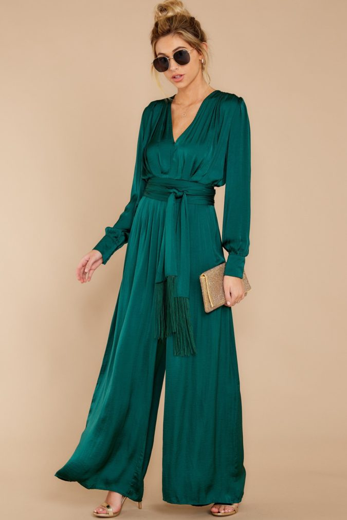 Long-sleeve-jumpsuit..-1-675x1013 120+ Breathtaking Birthday Party Outfits for Ladies