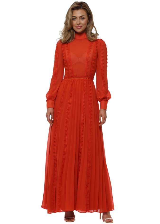 Long-sleeve-maxi-dress.-3-675x943 120 Splendid Women's Outfits for Evening Weddings