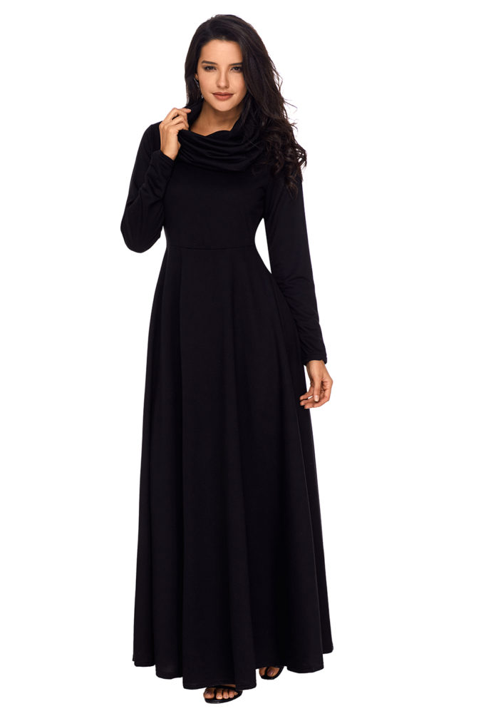 Long-sleeve-maxi-dress.-675x1011 120 Splendid Women's Outfits for Evening Weddings