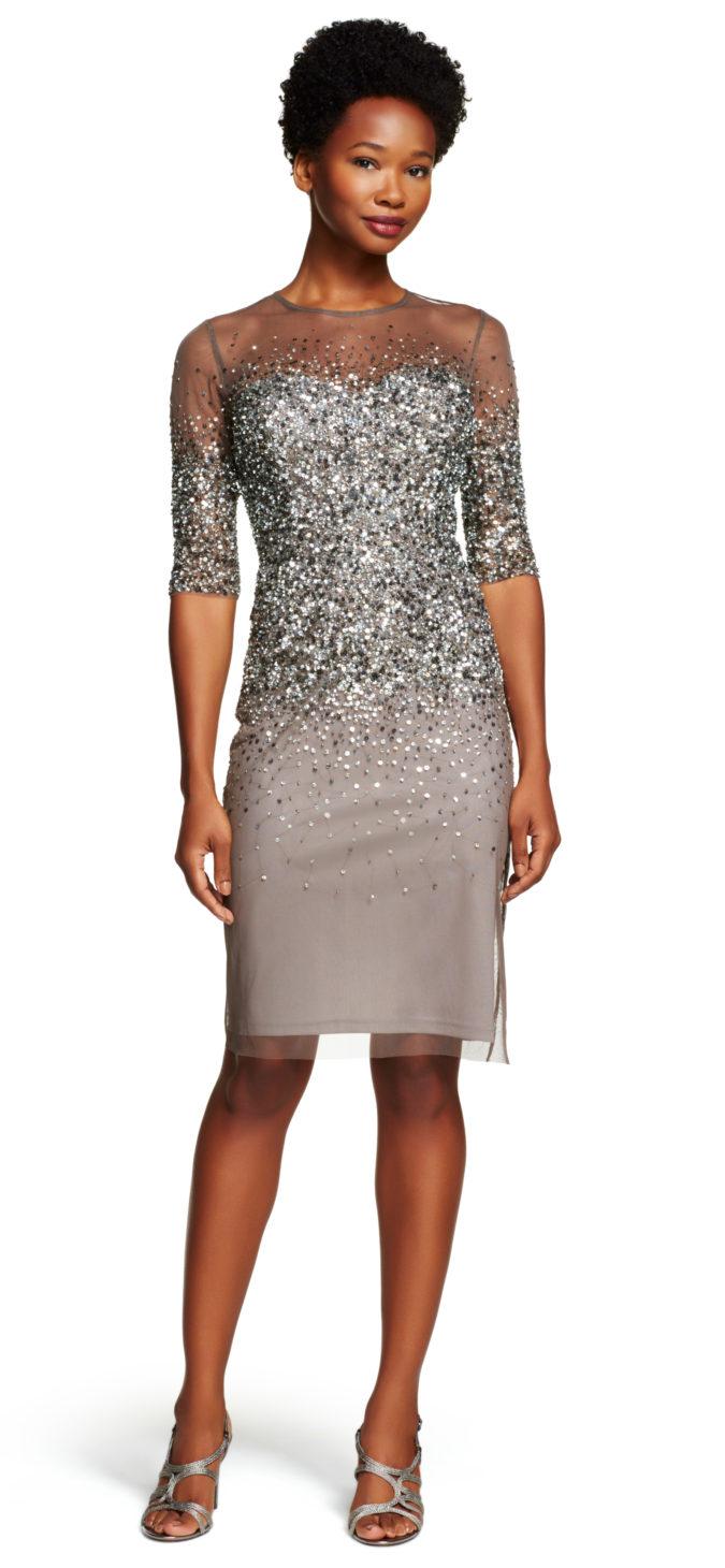 Mesh-sheath-dress-1-675x1460 120 Splendid Women's Outfits for Evening Weddings