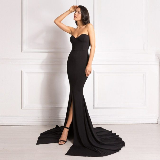 Nightway-gown.-675x675 120 Splendid Women's Outfits for Evening Weddings