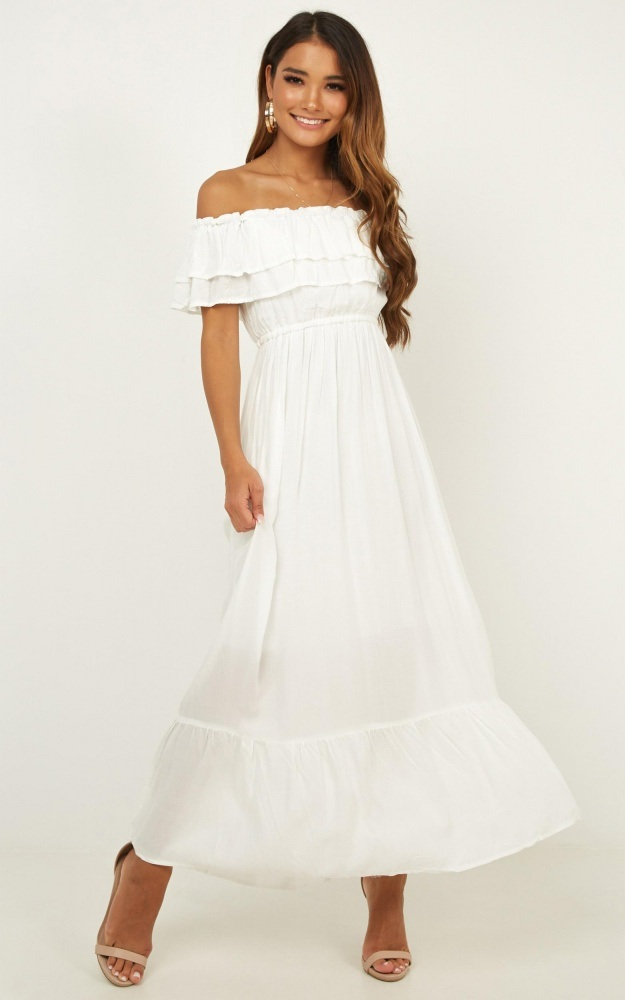 Off-shoulder-dress-.-1 120+ Breathtaking Birthday Party Outfits for Ladies