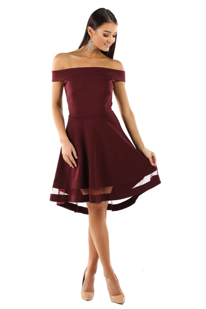 Off-shoulder-dress-.-2-675x1013 120+ Breathtaking Birthday Party Outfits for Ladies