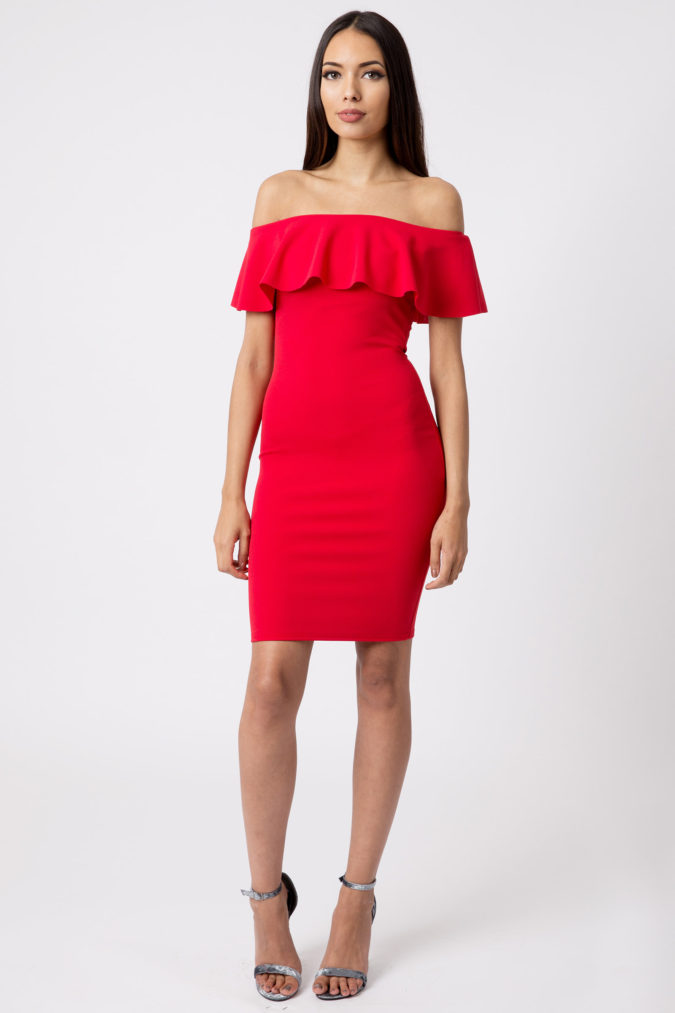 Off-shoulder-dress-.-675x1013 120+ Breathtaking Birthday Party Outfits for Ladies
