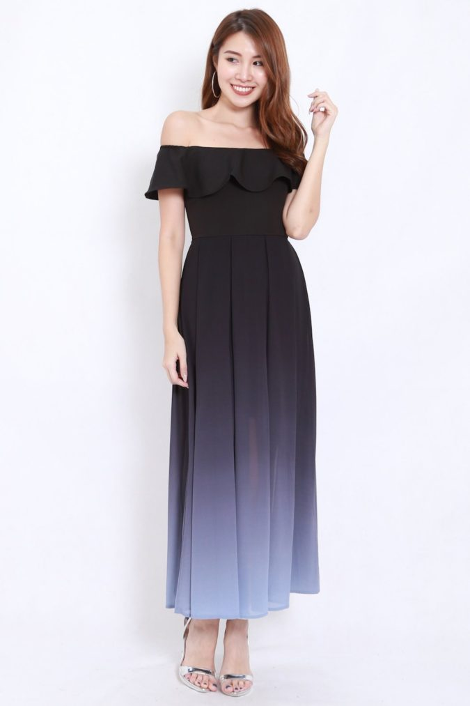 Off-shoulder-dress-1-1-675x1013 120+ Breathtaking Birthday Party Outfits for Ladies