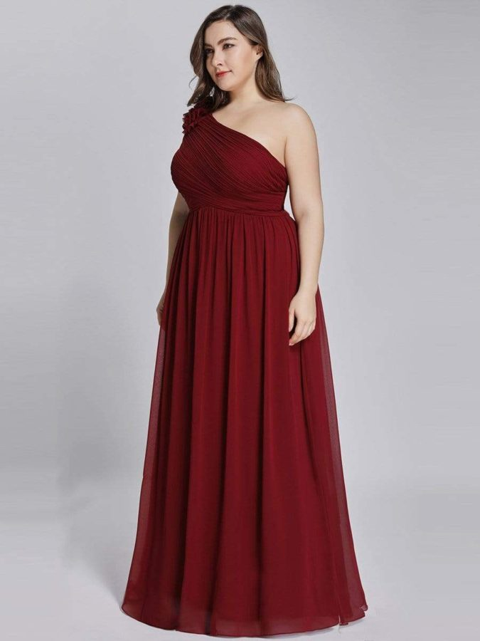 One-shoulder-dress-675x900 120+ Breathtaking Birthday Party Outfits for Ladies