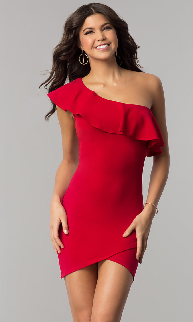 One-shoulder-dress.-1-675x1125 120+ Breathtaking Birthday Party Outfits for Ladies