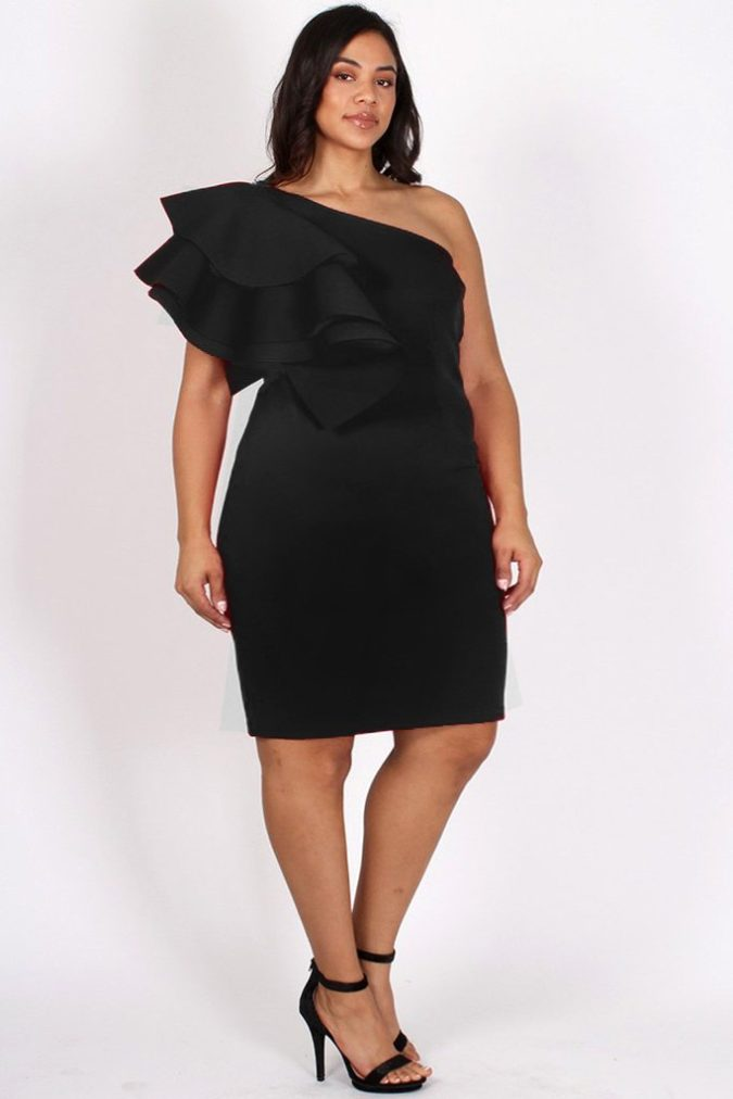 One-shoulder-dress..-675x1012 120+ Breathtaking Birthday Party Outfits for Ladies
