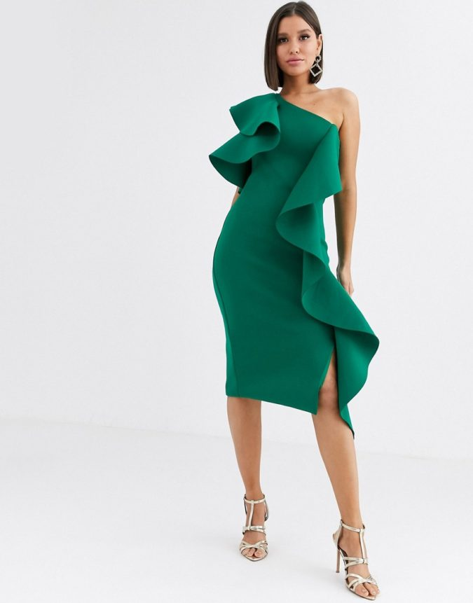 One-shoulder-dress...-675x861 120+ Breathtaking Birthday Party Outfits for Ladies