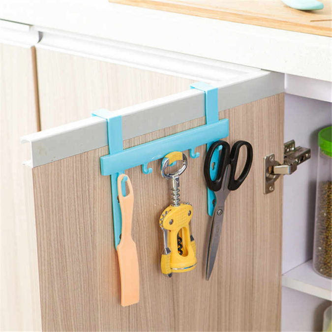 Over-cabinet-storage-organizer-675x675 100+ Smartest Storage Ideas for Small Kitchens in 2021