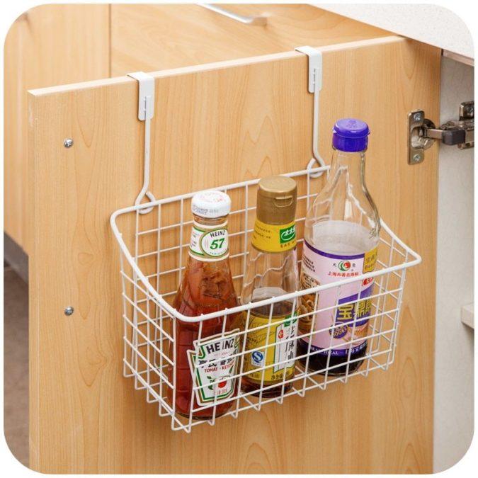 Over-cabinet-storage-organizer.-675x675 100+ Smartest Storage Ideas for Small Kitchens in 2021