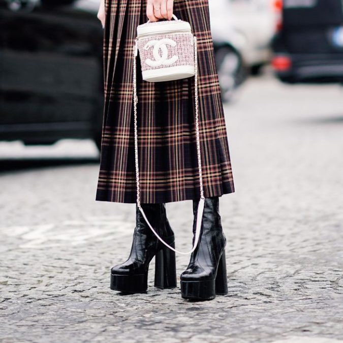 Platform-Boot-675x675 140+ Lovely Women's Outfit Ideas for Winter 2020 / 2021