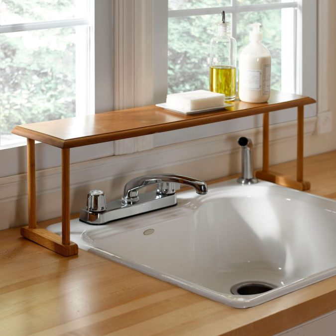 Regain-your-sink-space-675x675 100+ Smartest Storage Ideas for Small Kitchens in 2021