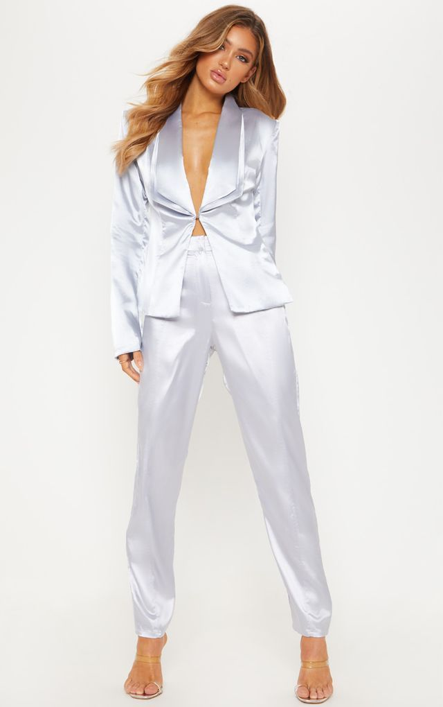 Satin-suit-.-2 120+ Breathtaking Birthday Party Outfits for Ladies