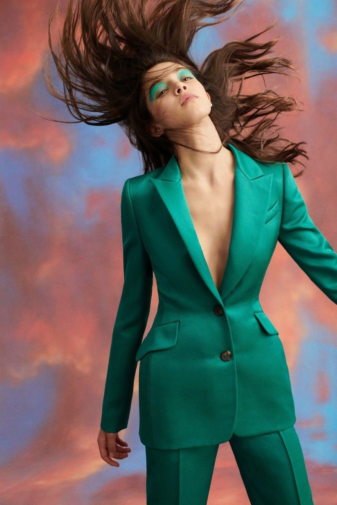 Satin-suit-675x1013 120+ Breathtaking Birthday Party Outfits for Ladies
