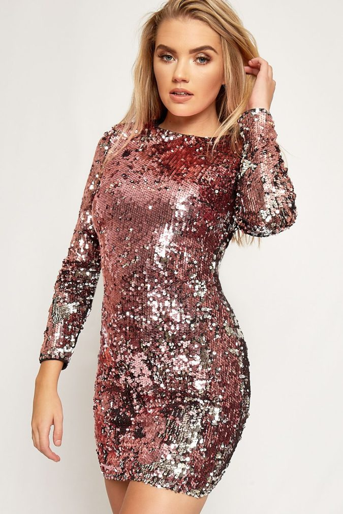 Sequin-dress-..-675x1013 120+ Breathtaking Birthday Party Outfits for Ladies